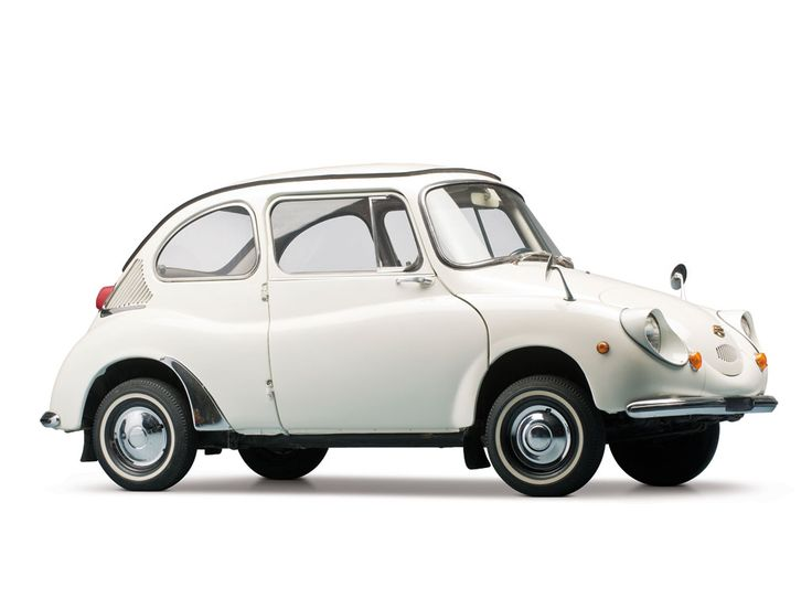 1970 Subaru 360 - My older brother owned one of these...it was adorable.