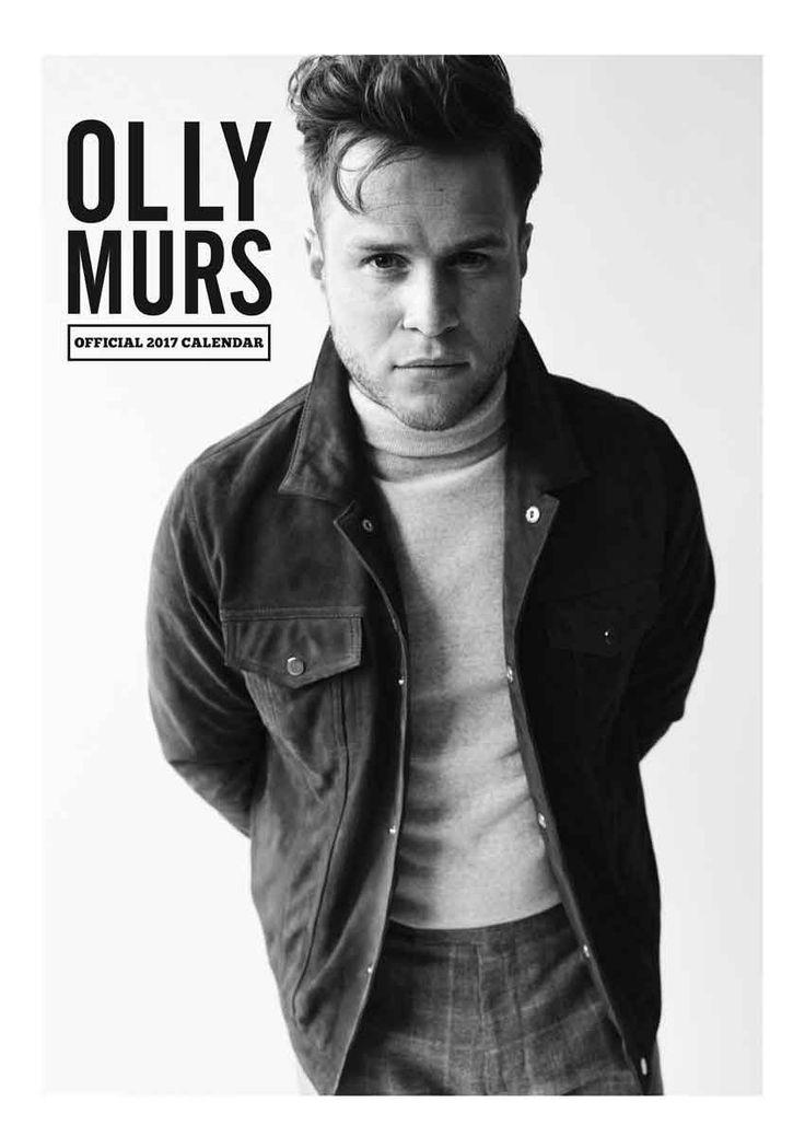 Olly Murs Official A3 Calendar 2017