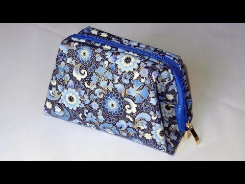 Bolsa Yasmin - Bolsa em tecidos - Aula em vídeo de bolsa em tecido - Mar...