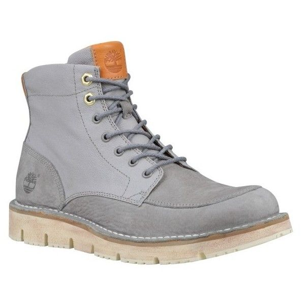 Men's Timberland Westmore Apron Toe Boot (510 BRL) ❤ liked on Polyvore featuring men's fashion, men's shoes, men's boots, steeple grey fabric, timberland mens boots, mens patent leather shoes, mens boots, mens patent shoes and mens shoes
