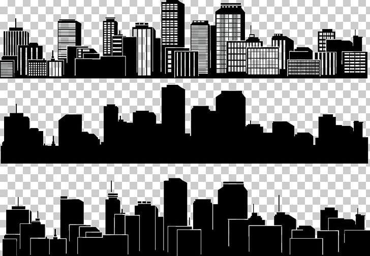 City Silhouette Skyline Building Png Black Black Background Black Vector Building Design City City Silhouette Black Backgrounds Png