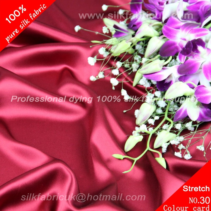 16mm silk stretch satin fabric-wine-red http://www.silkfabricuk.com/16mm-silk-stretch-satin-fabricwinered-p-168.html