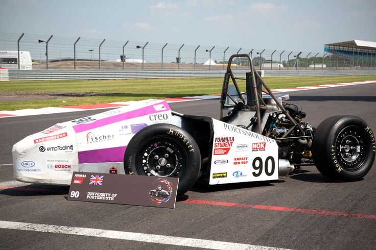 IMechE Formula Student - Silverstone 2013 - DC with University of Portsmouth (UP Racing)