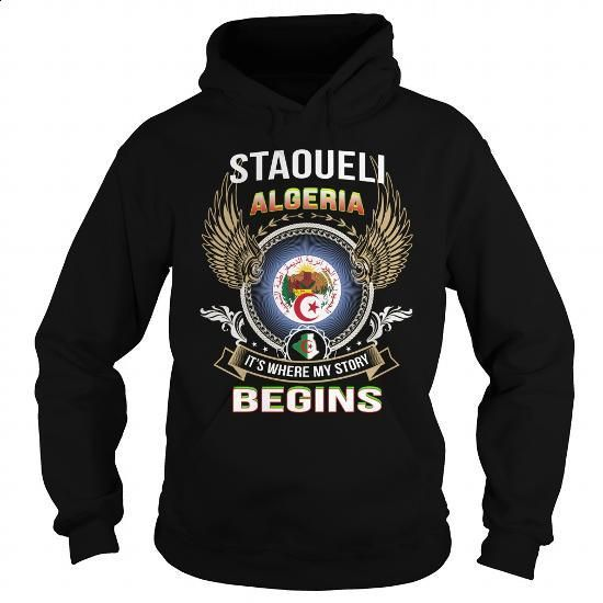 Staoueli-Algeria - #long #pullover hoodie. BUY NOW => https://www.sunfrog.com/LifeStyle/Staoueli-Algeria-Black-Hoodie.html?60505