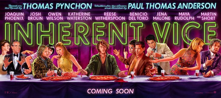 "Inherent Vice 18""x40"" Movie Banner Vinyl Poster B 