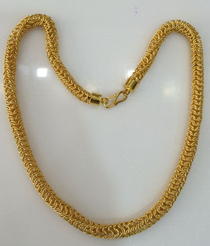 Gold Chains 22 K Handmade Jewelry Gold Link Chain Gold Chain Design Gold Chains