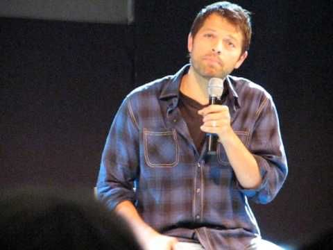 JIB4 - Misha Collins about his daughter Maison - YouTube - Supernatural convention Panel