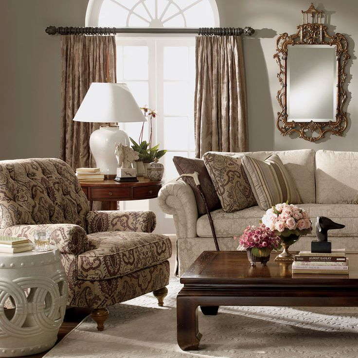 1000 images about family room ideas on pinterest shops for Ethan allen living room designs