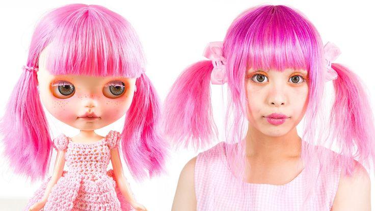 Blythe Doll Makeup