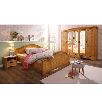 Simple Home affaire tlg Schlafzimmer Set Konrad mit trg Kleiderschrank Bett cm und Nachttischen Jetzt bestellen unter