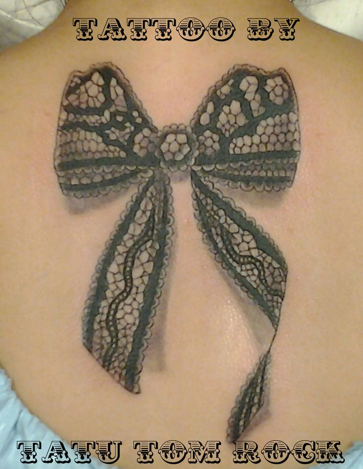 #tattoo #Chicago #lace #bow #tatutomrock #tattoos #art #artist