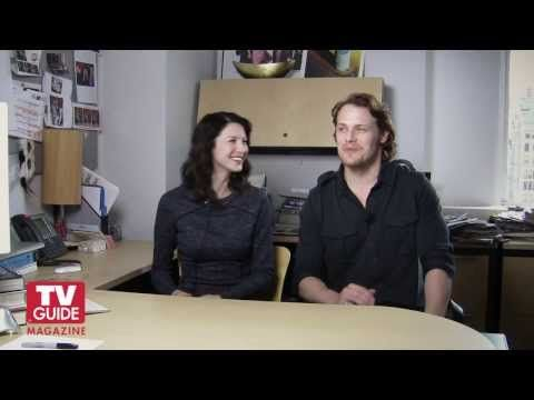 Outlander! Caitriona Balfe and Sam Heughan confess all! - YouTube (More like Sam...Caitriona needs more air time!)
