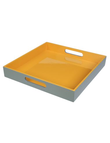 This Rio tray will introduce the statement colour of mustard into your home decor, it looks particularly bold next to stone, white or marble. Farmers $20