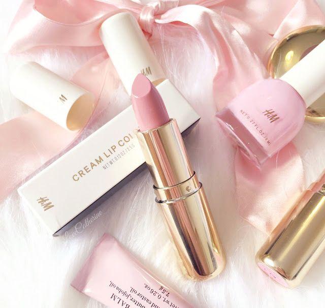 H&M Lipstick   Powder Puff  lovecatherine.co.uk Instagram catherine.mw xo