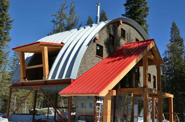 17 best images about steel homes on pinterest steel for Metal cabin kits
