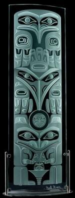 Haida Lineage Totem--Geoff Greene, Haida nation