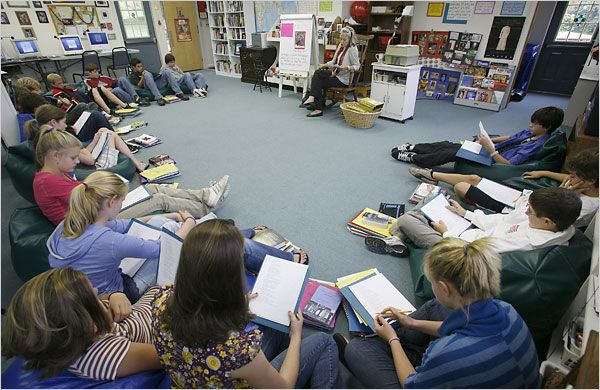 """The """"Reading Workshop"""" Classroom"""