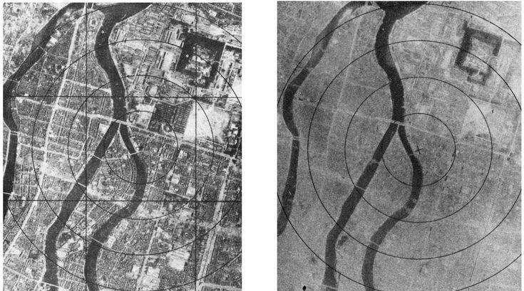 Hiroshima.  Before & After