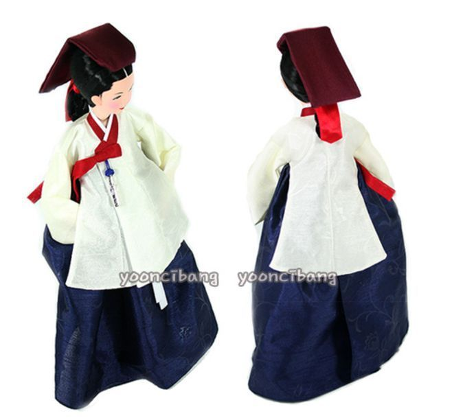 Korean Wave DaeJangGeum(Most Famous TV DRAMA) DOLL In HanBok(Traditional dresss)