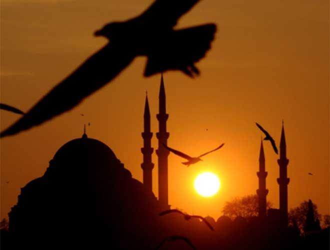 İstanbul'da eşsiz manzara