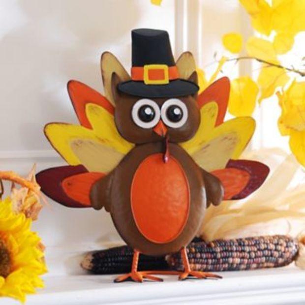 Thanksgiving Decorations Kirklands : Thanksgiving owl statue kirklands fall y all