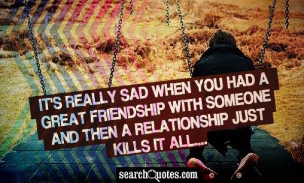 Sad Ending Friendship Quotes Sad Friendship Quotes Love Quotes Poems Messages Romantic