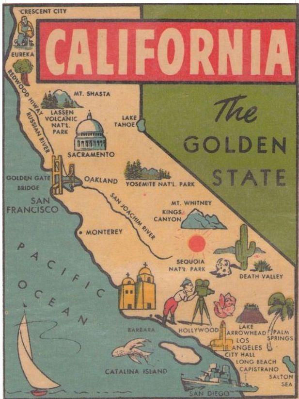 California Map 136 best Where am I