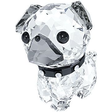 Puppy - Roxy the Pug wants to dance Rock n' Roll with you! The combination of clear and dark crystal, together with black eyes and collar, adds a... Shop now