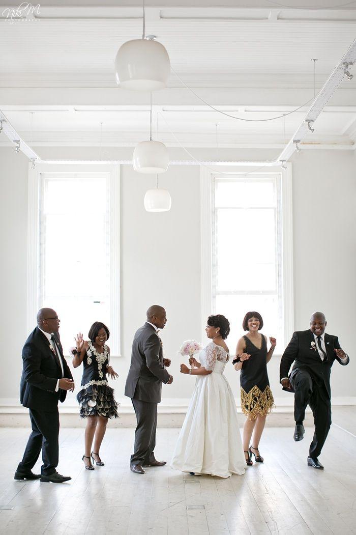 Unathi and Mtunzi's 1920′s Inspired Wedding; Port Elizabeth, South Africa
