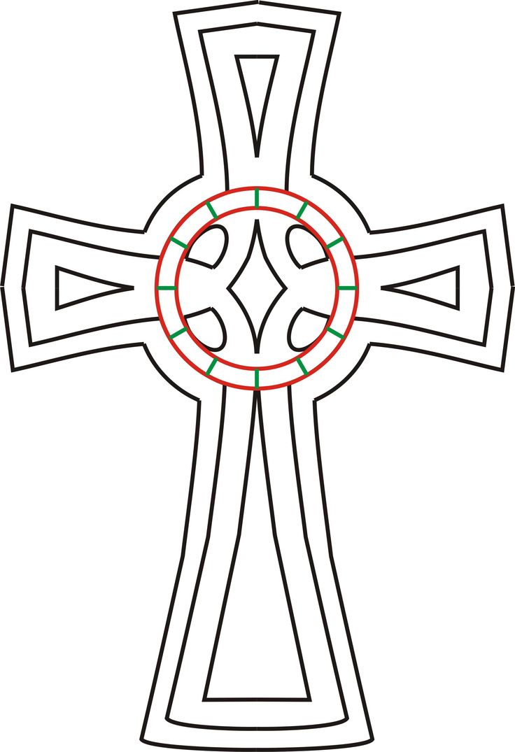Cross template simple cross image craft ideas pinterest crosses - Celtic Cross Laser Cut Gift Complete Laser Services Design Adobe And Coreldraw