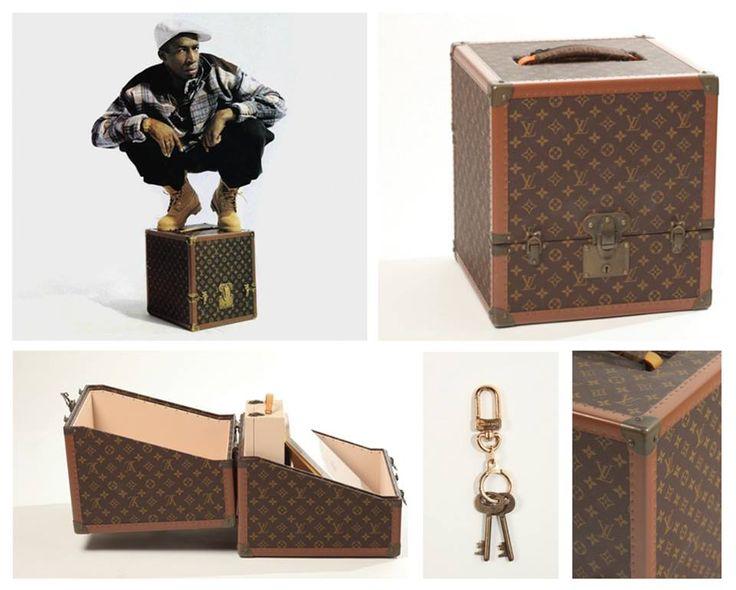 Louis Vuitton Lp Record Case Designed By Helmut Lang