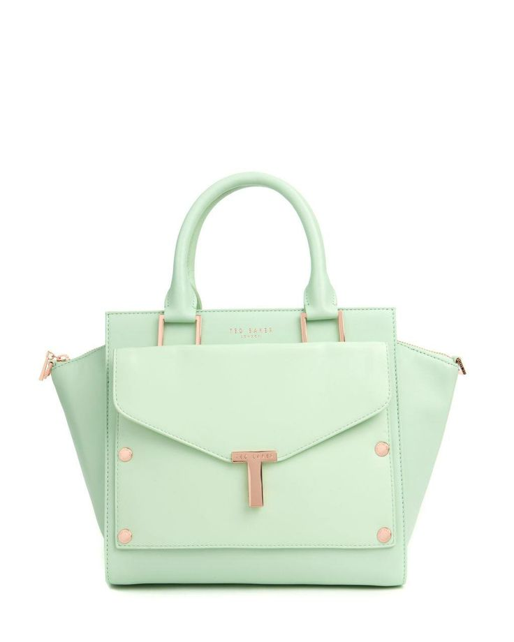 Mint green is the must have colour for the season, treat your Mum with the Burally T tote and clutch bag from @Ted Baker on #RegentStreet this #MothersDay- £229.00