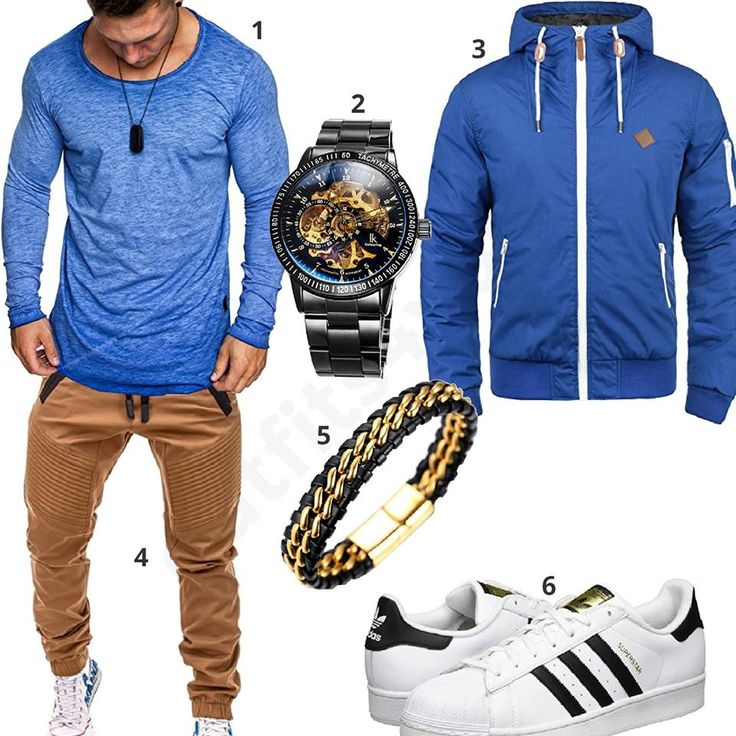 Blauer Style mit weißen Adidas Superstars (m0578) #outfit #style #fashion #ootd #männer #herren #outfit2017 #outfit #style #fashion #menswear #mensfashion #inspiration #shirt #cloth #clothing #styling #sneaker #menstyle #inspiration