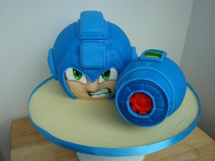 Mega Man Cake