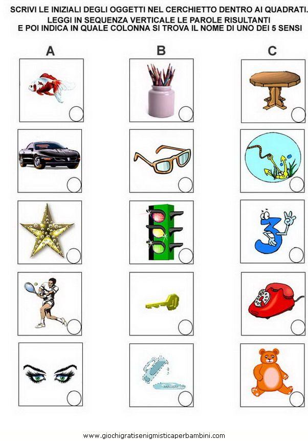 32 best images about enigmistica on pinterest madagascar for Parole con mp per bambini