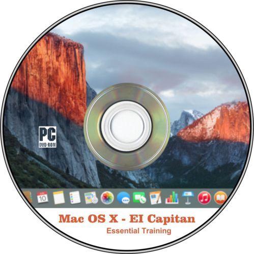 Mac OS X El Capitan Essential Training DVD