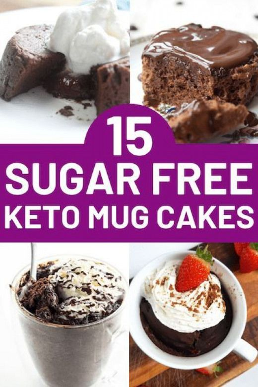 15 Sugar Free Microwave Mug Cakes That are Quick & Easy to ...