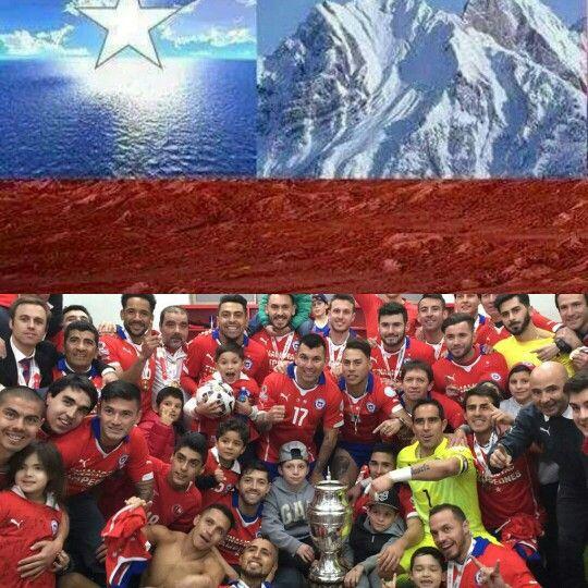 Chile campeon de América 2015