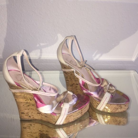Authentic Emilio Pucci wedges  These shoes are 100% authentic.  Signs of wear.  No box. Emilio Pucci Shoes