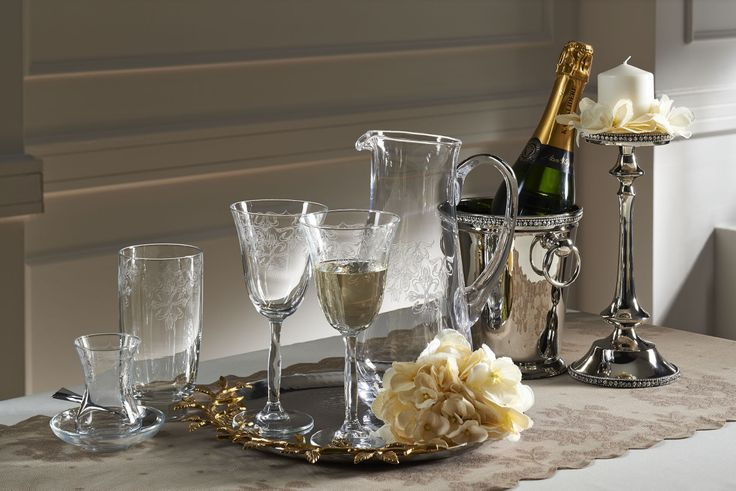 Craft 25 Parça Kadeh Seti / Glass SET #bernardo #tabledesign