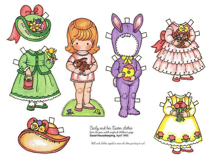I always loved Joan Walsh Anglund paper dolls!