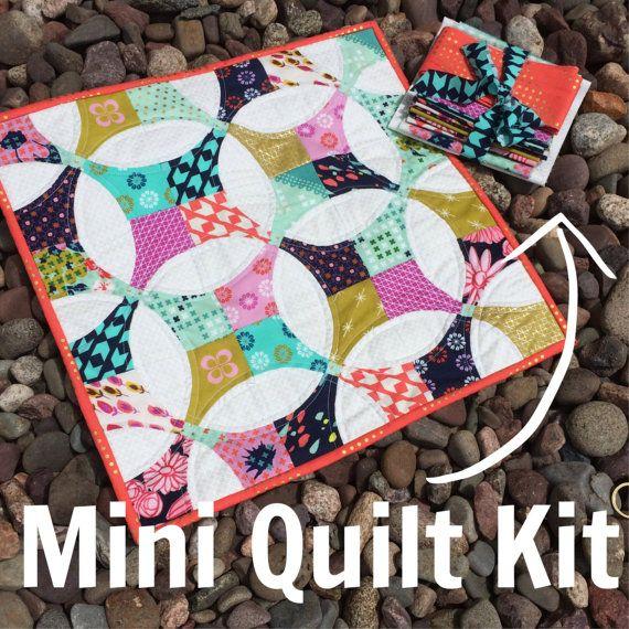 34 best Rainbow Mini Quilt inspiration team orange images on ... : miniature quilt kits - Adamdwight.com