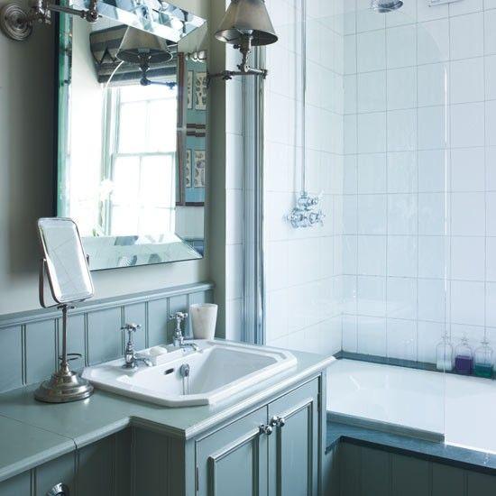 Bathroom Vanity Lighting Ideas And The 2 1 Design Rule: Best 25+ Blue Traditional Bathrooms Ideas On Pinterest