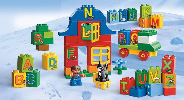 6051 LEGO® DUPLO® Play with Letters #LegoDuploParty #LegoDuplo