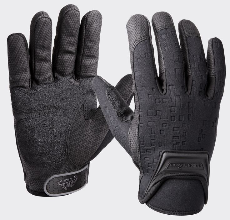 Helikon Urban Tactical Gloves Firm Grip – Black