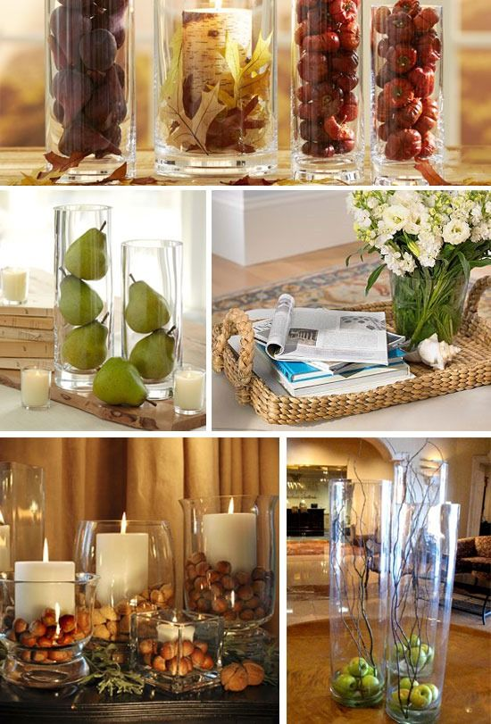 ways to decorate and style clear glass vases i like the on favorite diy fall decorating ideas add life to your home id=96034