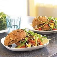 Recept - Broodje roerei met paddestoelen - Allerhande