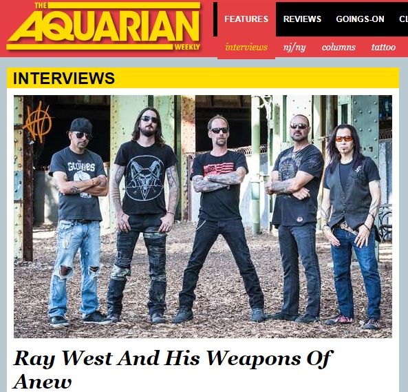 The Aquarian's Interview With Weapons of Anew - http://www.okgoodrecords.com/blog/2017/09/26/the-aquarians-interview-with-weapons-of-anew/ - Weapons of Anew has a lot to celebrate as of late. They just released their debut album 'The Collision of Love and Hate,' and they also embarked on a North American tour with Tesla. Vocalist for Weapons of Anew, Ray West recently caught up with The Aquarian to discuss the band, their... - Debut Album, interview, Killshot, met