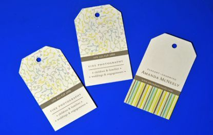 Free die-cutting. Extreme business cards- Greenway Print Solutions.