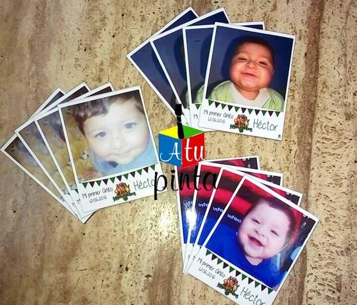 Fotografias Polaroid imantadas para Souvenir o recuerdos de tus fiestas
